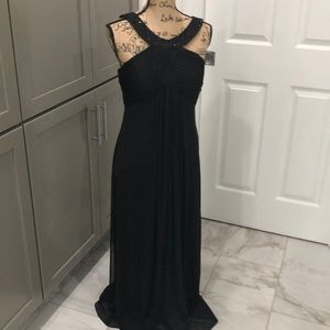 Black formal gown size 8